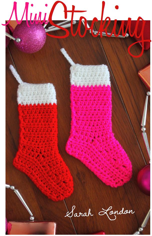 Mini Christmas Stocking | Sarah London