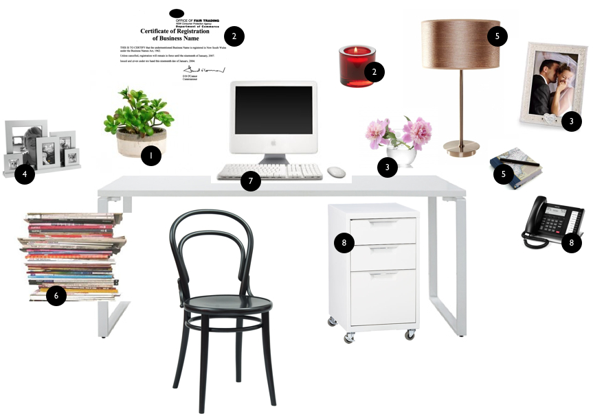 feng shui office desk placement g