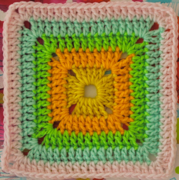 FREE Motif Monday: Solid Crocheted Square