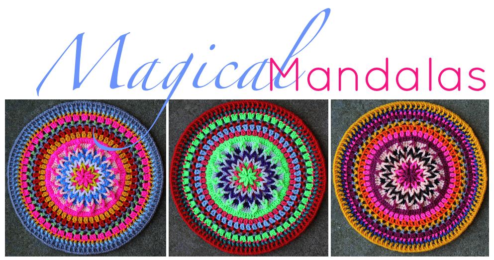 Crochet Patterns For Mandala Yarn : More Mandalas Sarah London