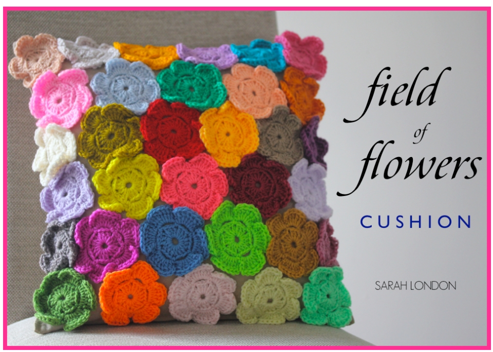 Field of Flowers Cushion | Sarah London